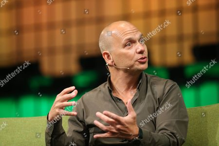 Tony Fadell of Nest Speaks on the Centre Stage During Day 2 of the 2014 Web Summit in the Rds Conference Centre Dublin Ireland 05 November 2014 the Summit Held Over Three Days is Europes Largest Technology Festival and Attracts Over 20 000 Attendees From 106 Countries Nest Reinvents Unloved But Important Home Products Like the Thermostat and Smoke and Co Alarm the Company Focuses on Delighting Customers with Simple Beautiful and Thoughtful Hardware Software and Services Ireland Dublin