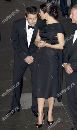 Princess Mary and Prince Frederik. Mary shows concern that Frederik feels unwell