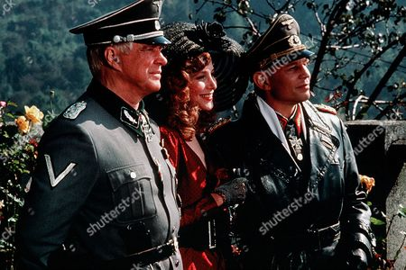 'Night of the Fox' TV Film - 1990 -  George Peppard as Col. Harry Martineau, Deborah Raffin as Sara Drayton, Michael York as Rommel.