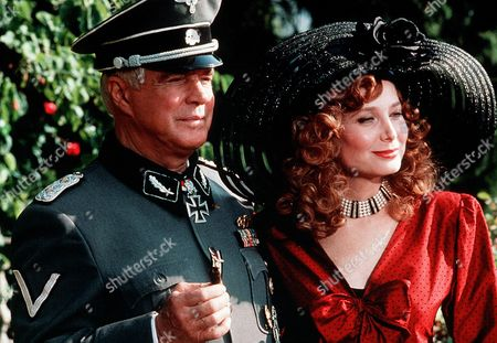 'Night of the Fox' TV Film - 1990 -  George Peppard as Col. Harry Martineau, Deborah Raffin as Sara Drayton,