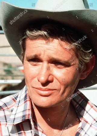 'Rodeo Girl'  TV Film - 1980 -  Close up of Wil Garrett (Bo Hopkins)