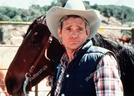 'Rodeo Girl'  TV Film - 1980 -  Rodeo champion and Sammy Garrett's husband Wil (Bo Hopkins) holds a horse by the reins