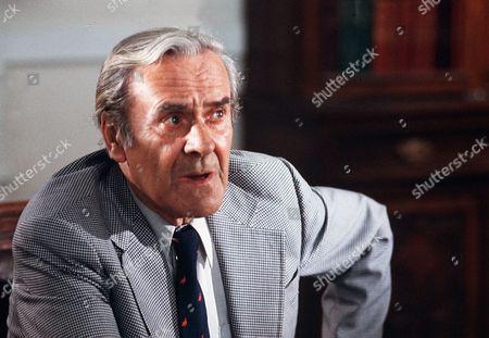 Stock Photo of 'The Shillingbury Blowers'  Film - 1980 - John Le Mesurier.