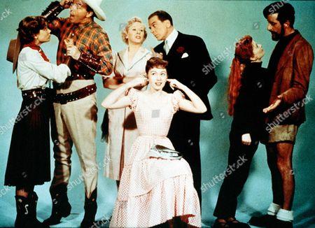 'As Long as They're Happy'  Film - 1955 -  Jack Buchanan as John Bentley, Janette Scott as Gwen, Jean Carson as Pat, Diana Dors.