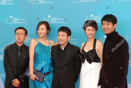 Stock Picture of Wang Hongwei, Hao Lei, Jia Zhang Ke, Zhao Tao, Guo Xiaodong