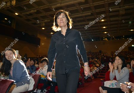 French Director Catherine Corsini Attends the Opening Ceremony of the 21st Annual French Film Festival in Tokyo Japan 21 June 2013 the Festival Showcases a Selection of Recent French Films From 21 to 24 June Japan Tokyo