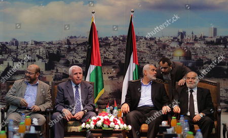 Editorial image of Mideast Palestinians Fatah Hamas - Apr 2014
