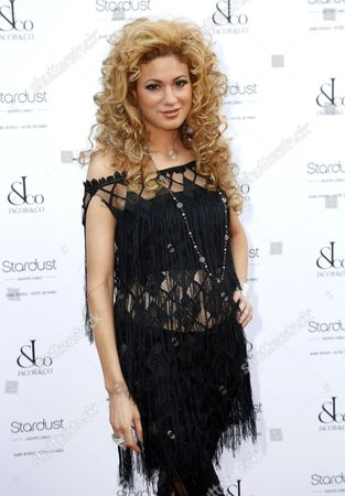 Israeli-born Violinist Miri Ben-ari Arrives at the Cocktail Gala Held at the Hotel De Paris in Monaco 04 July 2013 an Exhibition of Pieces by Jewelry Company Jacob & Co is Held at the Hotel De Paris to Celebrate the 150 Anniversary of the Sbm (societe Des Bains De Mer) Company of Monaco Monaco Monaco