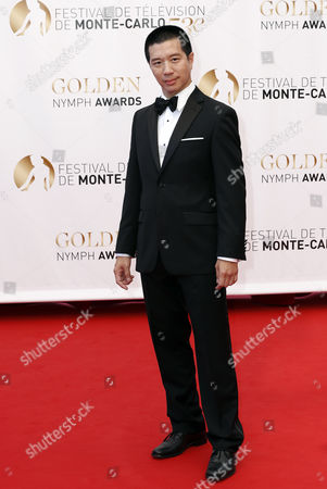 Philippine Actor Reggie Lee Poses During the Closing Ceremony of the Monte Carlo Television Festival in Monaco 13 June 2013 the Festival Runs From 09 to 13 June Monaco Monte Carlo