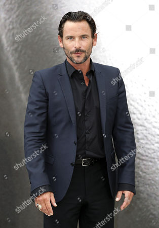 French Actor Sagamore Stevenin Poses During a Photocall For the Tv Series 'Falco' at the 53rd Monte Carlo Television Festival in Monaco 11 June 2013 the Festival Runs From 09 to 13 June Monaco Monte Carlo
