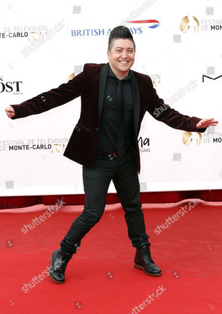 French Actor Chris Marques Poses During the Opening Ceremony of the Monte Carlo Television Festival in Monte Carlo Monaco 09 June 2013 the Festival Runs From 09 to 13 June Monaco Monte Carlo