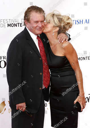 U S Actor Tom Berenger Poses For the Media with His Wife Patricia Alvaran As They Arrive on the Red Carpet For the Opening Ceremony of the Monte Carlo Television Festival in Monte Carlo Monaco 09 June 2013 the Festival Runs From 09 to 13 June Monaco Monte Carlo