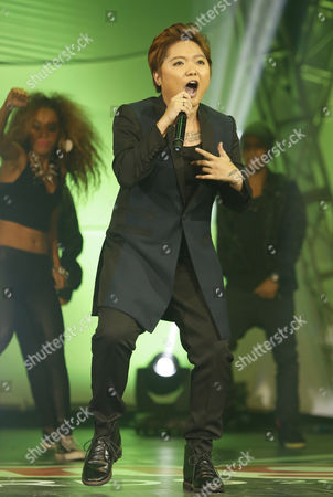 A Picture Made Available on 20 July 2013 Shows Filipino Singer Charice Pempengco (c) Performing During the 'Yahoo! Omg! Awards' in Pasay City South of Manila Philippines on 19 July 2013 Pempengco who Has Appeared on the Us Television Show 'Glee ' is Expected to Release a New Music Album in September Philippines Manila