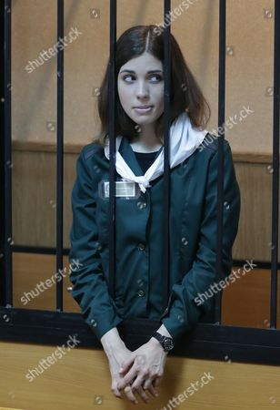 Editorial image of Russia Tolokonnikova Pussy Riot Trial - Apr 2013