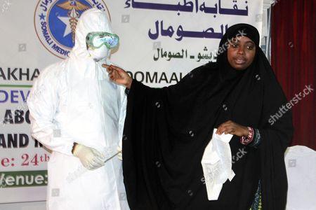 Editorial photo of Somalia Ebola - Oct 2014