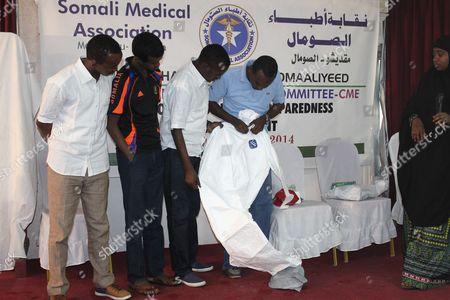 Editorial picture of Somalia Ebola - Oct 2014