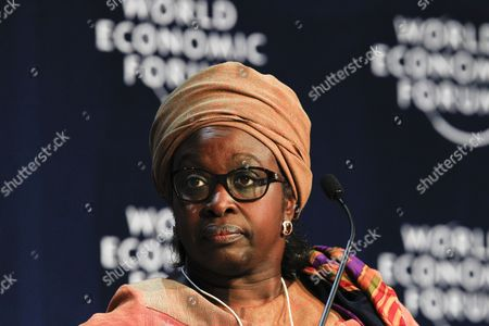 Bineta Diop Chair of the Executive Board Femmes Africa Solidarite Switzerland During the Africa 2063: From Fragility to Stability Plenary Session at the World Economic Forum on Africa 2013 in the Cape Town International Convention Centre South Africa 10 May 2013 Under the Theme Delivering on Africas Promise the 23rd World Economic Forum on Africa is a Platform For Regional and Global Leaders From Business Government and Civil Society to Deepen the Continents Integration Agenda and Renew Commitment to a Sustainable Path of Growth and Development South Africa Cape Town