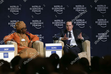 Editorial photo of South Africa World Economic Forum on Africa - May 2013