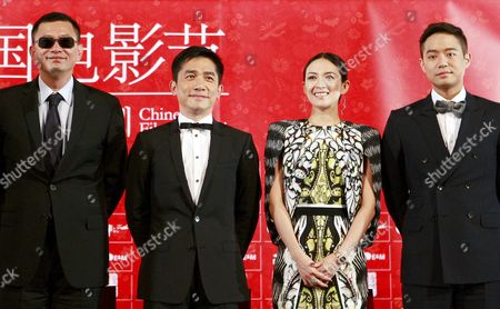 (l-r) Chinese Director Wong Karwai Hong Kong Actor Tony Leung Chiu-wai Chinese Actress Zhang Ziyi and South Korean Actor Chun Jung-myung Attend the Opening Ceremony of the 5th Chinese Film Festival at the Cgv Yeuido Theater in Seoul South Korea 16 June 2013 the Festival That Runs From 16 to 20 June Will Present About a Dozen Recent Chinese Movies Korea, Republic of Seoul