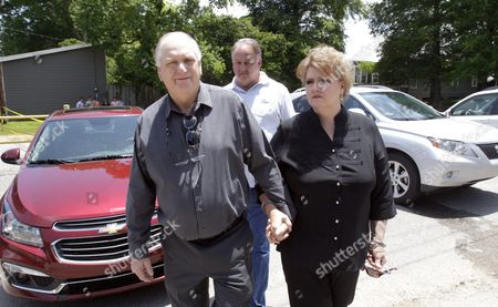 Stan Miller and Wanda Callender Siblings of Slain Prison Guard Brent Miller Leave the West Feliciana Parish Detention Center After Inmate Albert Woodfox was Denied a Judge's Ruling to Be Released in St Francisville Louisiana Usa 12 June 2015 Woodfox Has Spent the Last 43 Years in Solitary Confinement Woodfox was Twice Convicted of Killing Louisiana State Penitentiary Guard Brent Miller in April 1972 Two Other Inmates Also Convicted who Served Time in Solitary Confinement Were Previously Released Woodfox the Last of the 'Angola Three ' was Ordered Released by Us District Judge James J Brady and the Decision is in the Hands of the 5th Circuit Court of Appeals United States St. Francisville
