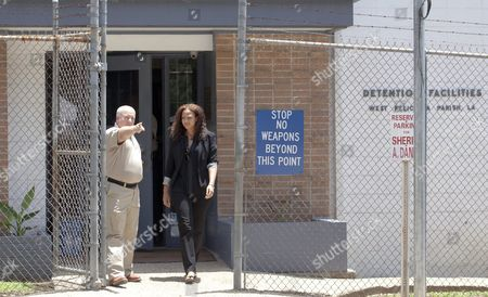 Attorney Carine Williams Leaves at the West Feliciana Parish Detention Center in the Company of Warden Randall Holden where Her Client Inmate Albert Woodfox was Denied a Judge's Ruling to Be Released Woodfox Has Spent the Last 43 Years in Solitary Confinement in St Francisville Louisiana Usa 12 June 2015 Woodfox was Twice Convicted of Killing Louisiana State Penitentiary Guard Brent Miller in April 1972 Two Other Inmates Also Convicted who Served Time in Solitary Confinement Were Previously Released Woodfox the Last of the 'Angola Three ' was Ordered Released by Us District Judge James J Brady and the Decision is in the Hands of the 5th Circuit Court of Appeals United States St. Francisville