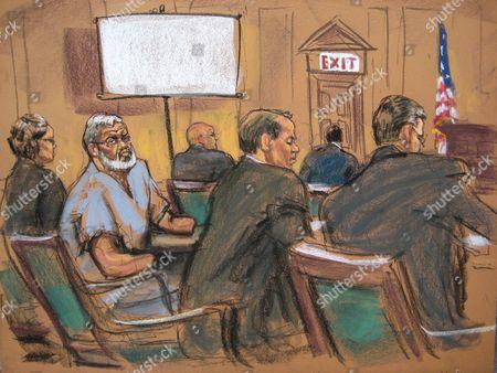 Editorial photo of Usa Hamza Trial - Apr 2014
