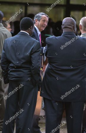 Us Representative Mark Sanford (r-sc) (c) Attends the Funeral of Walter Scott at the W O R D Ministries Christian Center Usa 11 April 2015 For His Funeral in Summerville South Carolina a White South Carolina Police Officer was Charged with Murder on 07 April Hours After Law Enforcement Officials Viewed a Dramatic Video That Appears to Show Him Shooting a Fleeing Black Man Several Times in the Back the Officer Michael T Slager 33 Said He Had Feared For His Life Because the Man Had Taken His Stun Gun in a Scuffle After a Traffic Stop on 04 April United States Summerville