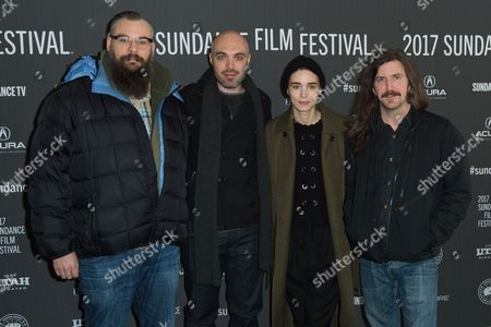 James M. Johnston, David Lowery, Rooney Mara and Toby Halbrooks