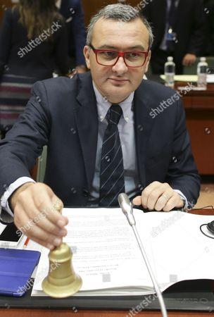 Editorial photo of Belgium Eu Council Financial Affairs Eu Budget - Nov 2014