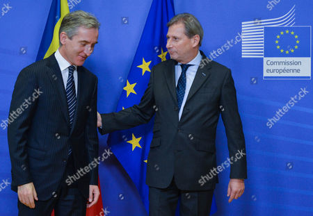 Editorial photo of Belgium Eu Moldavia Diplomacy - Dec 2014