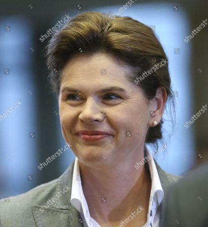 Editorial image of Belgium Eu Parliament Hearing Designate Commissioner - Oct 2014