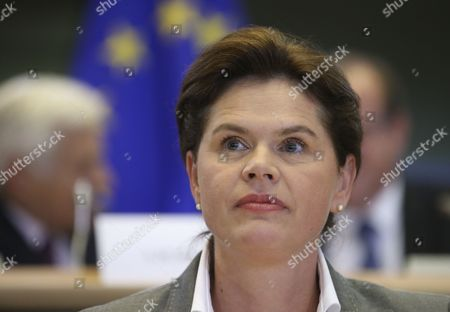 Editorial picture of Belgium Eu Parliament Hearing Designate Commissioner - Oct 2014