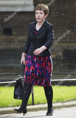 Leader of the House of Lords and Lord Privy Seal Baroness Tina Stowell Arrives in Downing Street Central London England 11 May 2015 For the Government Cabinet Reshuffle where She is Appointed As a Full Member of the Cabinet British Prime Minister David Cameron Appoints His First Conservative Government After the Conservative Party's Narrow Victory in the General Election on 07 May 2015 United Kingdom London