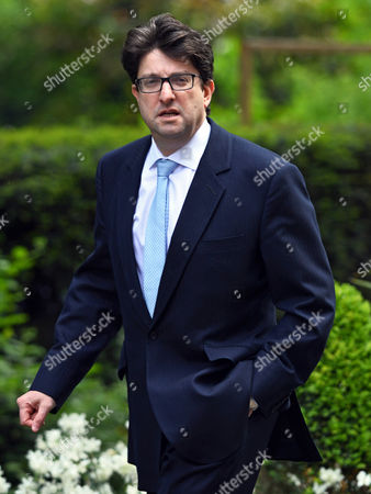 British Conservative Party Chairman Andrew Feldman Arrives at Downing Street Central London Britain 12 May 2015 For the First Cabinet Meeting of the New Parliament the Prime Minister Cameron's Conservative Party Had a Victory in the General Election on 07 May 2015 United Kingdom London
