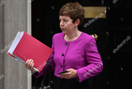 Leader of the House of Lords and Lord Privy Seal Baroness Tina Stowell Arrives at Downing Street Central London Britain 12 May 2015 For the First Cabinet Meeting of the New Parliament the Conservative Party Had Narrow Victory in the General Election on 07 May 2015 United Kingdom London