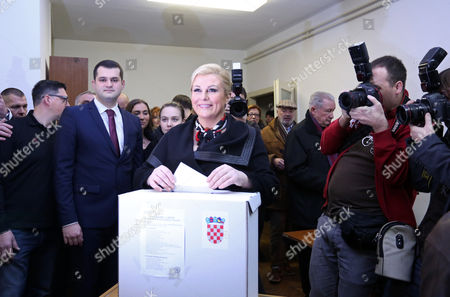 Editorial picture of Croatia Presidential Elections - Jan 2015
