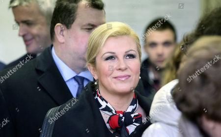 Editorial image of Croatia Presidential Elections - Jan 2015