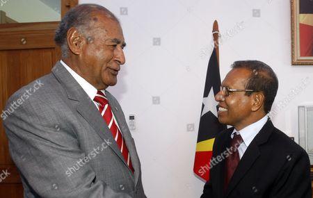 Editorial photo of East Timor Fiji Diplomacy - Feb 2014