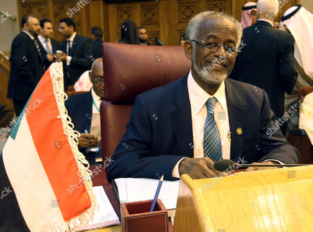 Sudanese Foreign Minister Ali Karti Attends the Arab League Foreign Ministers 140th Meeting at the League's Headquarters in Cairo Egypt 09 March 2014 the Syian Crisis and Palestinian Statehood Are Among Topics on the Meeting's Agenda Egypt Cairo