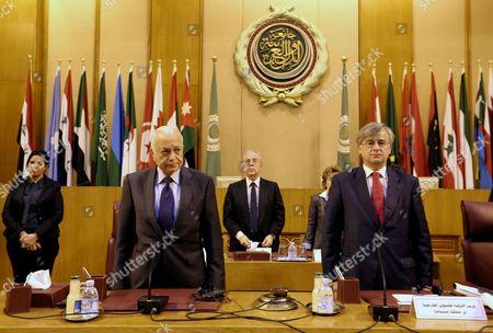 Editorial image of Egypt Spain Arab League - Feb 2015