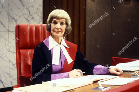 'Crown Court' Peanuts -TV - 1982 -  Judy Campbell as Judge Crawford.