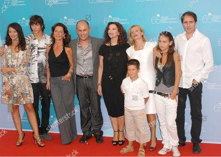 Nicole Grimaudo, Federico Costantini, Monica Guerritore, Ferzan Ozpetek, Stefania Sandrelli, Isabella Ferrari, Valerio Mastandrea and guests