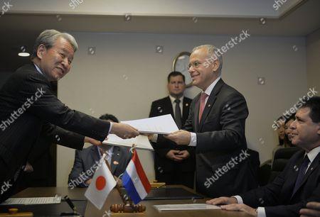 Editorial picture of Japan Paraguay Diplomacy - Jun 2014