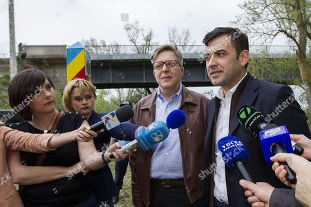 Editorial image of Moldova Eu Visa Free - Apr 2015
