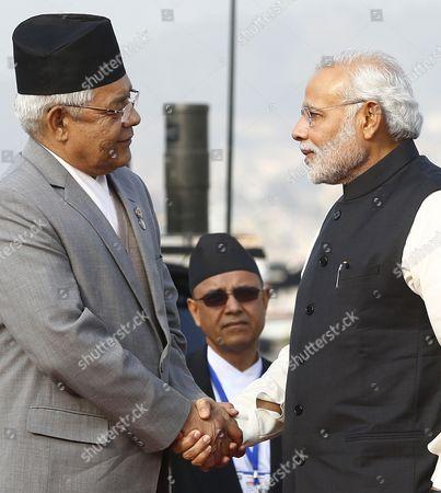 Editorial photo of Nepal Saarc Summit - Nov 2014