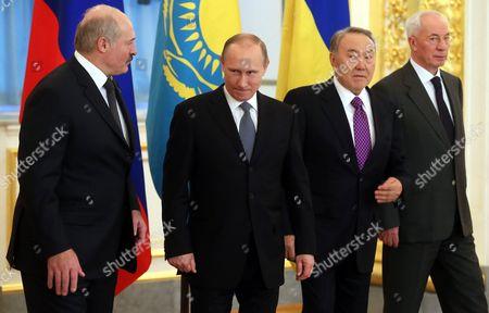 Editorial image of Russia Supreme Eurasian Economic Council - Dec 2013