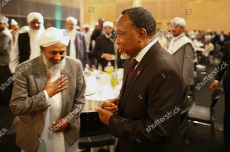 South African Deputy President Kgalema Motlanthe (r) is Applauded and Acknowledged by Seniour Imams During a Graduation Ceremony of Muslim Religious Leaders As Marriage Officers in Cape Town South Africa 30 April 2014 Since Muslims Were First Brought to South Africa As Slaves More Than Three Centuries Ago Their Marriages Had No Legal Standing Before Todays Graduation Ceremony Now For the First Time in South African History Muslim Marriages Will Be Recognised More Than One Hundred Muslim Clerics Or Imams Graduated As Marriage Officers in the Pilot Project by the Department of Home Affairs Marking a Historic Day in South Africa's Young Democracy South Africa is to Hold General Elections on 07 May 2014 Twenty Years Since the End of Apartheid South Africa Cape Town