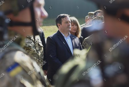 Editorial image of Ukraine Canada Diplomacy Kenney Visit - Jun 2015