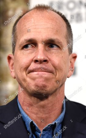 Australian Journalist Peter Greste Reacts During a Talk at the Frontline Club in London Britain 19 February 2015 Al Jazeera Journalist Peter Greste Arrived Back in Australia After He was Released From a Cairo Jail on 01 February 2015 and Deported After 400 Days in Custody on Charges of Faked Reporting and Collaborating with the Banned Muslim Brotherhood United Kingdom London