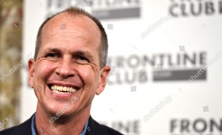 Australian Journalist Peter Greste Smiles During a Talk at the Frontline Club in London Britain 19 February 2015 Al Jazeera Journalist Peter Greste Arrived Back in Australia After He was Released From a Cairo Jail on 01 February 2015 and Deported After 400 Days in Custody on Charges of Faked Reporting and Collaborating with the Banned Muslim Brotherhood United Kingdom London